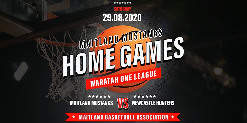 Home Game: Mustangs vs Newcastle Hunters