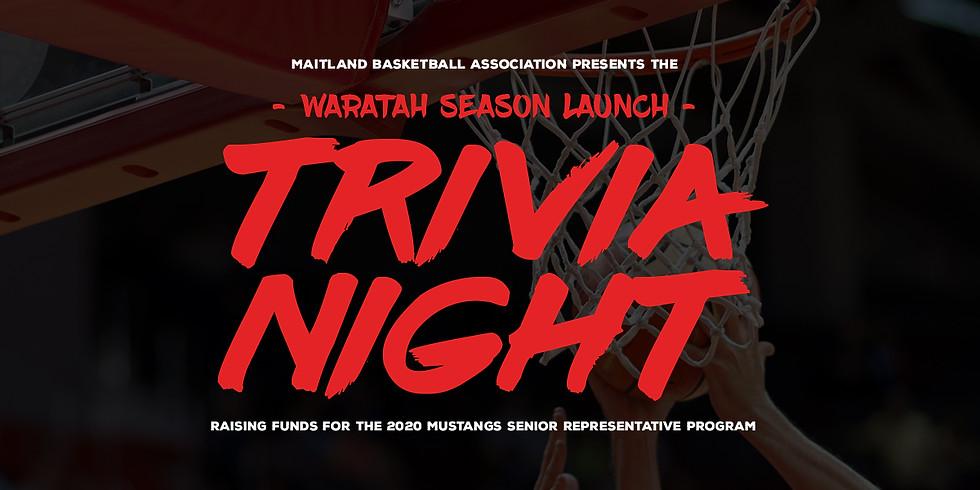 Waratah Season Launch - Trivia Night