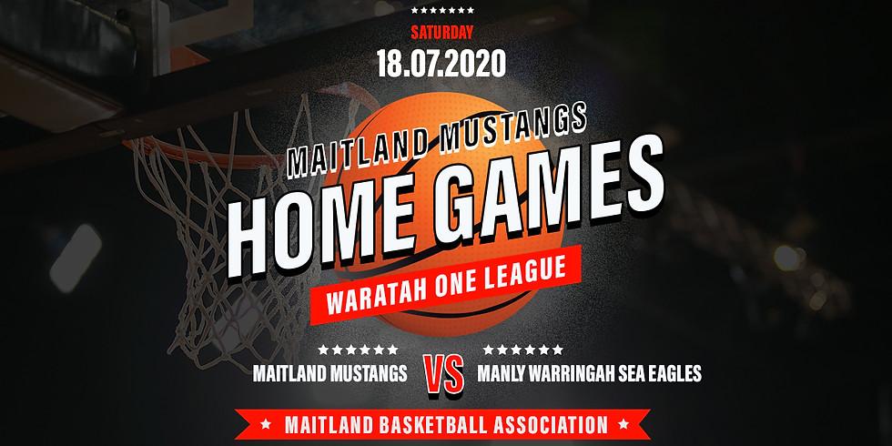 Home Game: Mustangs vs Manly Warringah Sea Eagles