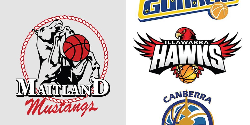 Home Game DOUBLE HEADER: Mustangs vs Illawarra Hawks & Canberra