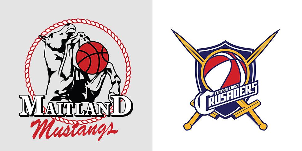 Home Game: Mustangs vs Central Coast Crusaders