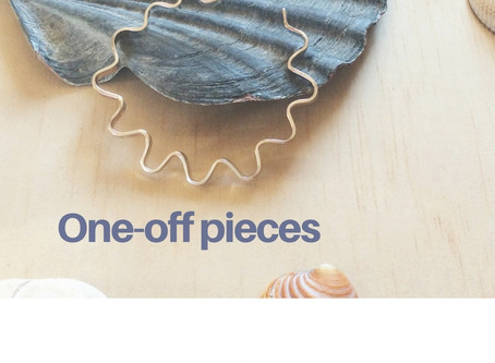 One-off jewellery pieces