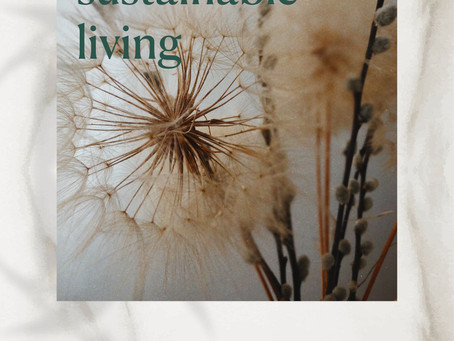 Slow and sustainable living