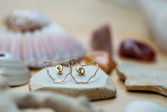 Gold Tassie Earrings