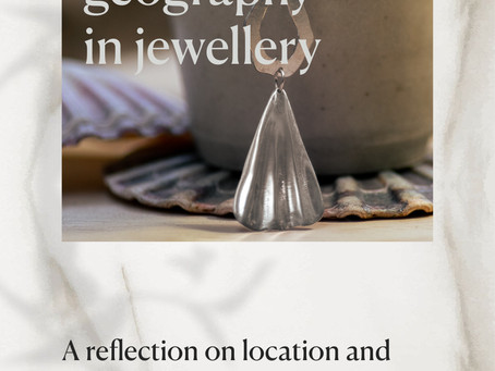Tracing geography in jewellery