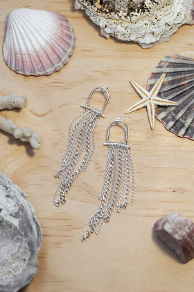 Jellyfish Earrings by Ruth Evenhuis Designs