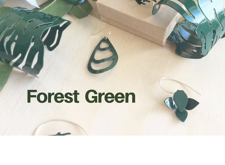 Forest green is now available online