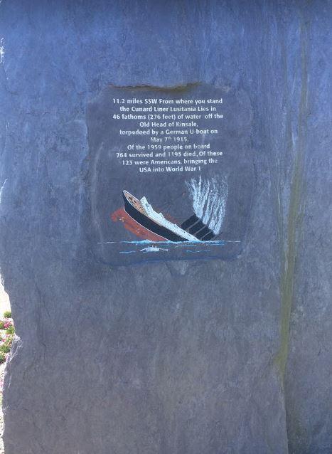 Lusitania plaque