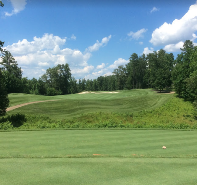 Spring Creek golf club  fifteenth hole