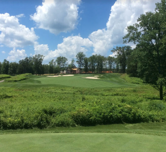 Spring Creek golf club  tenth hole