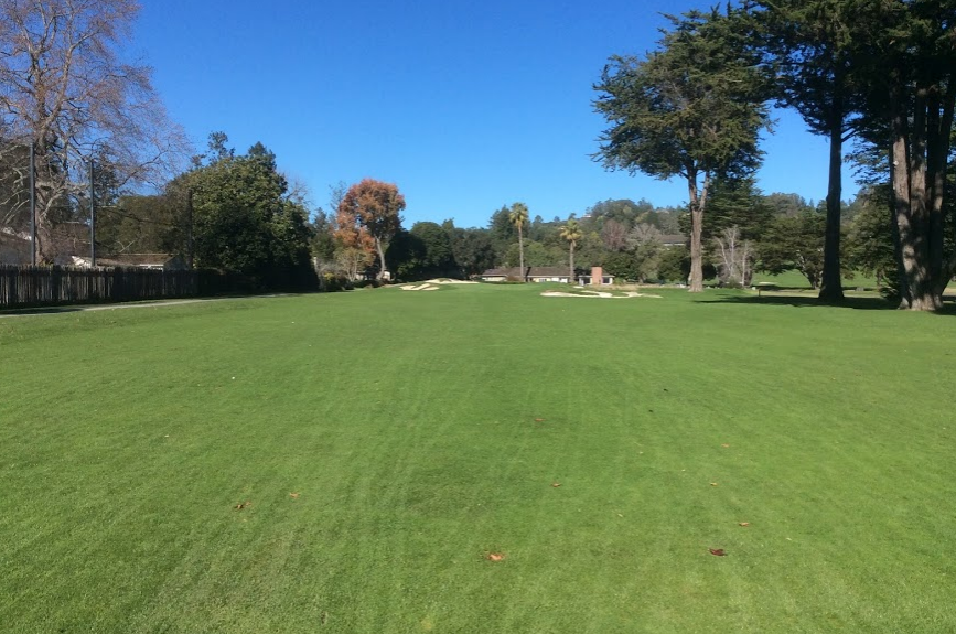 Pasatiempo golf club sixth hole