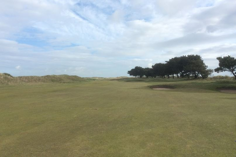 Fourth fairway