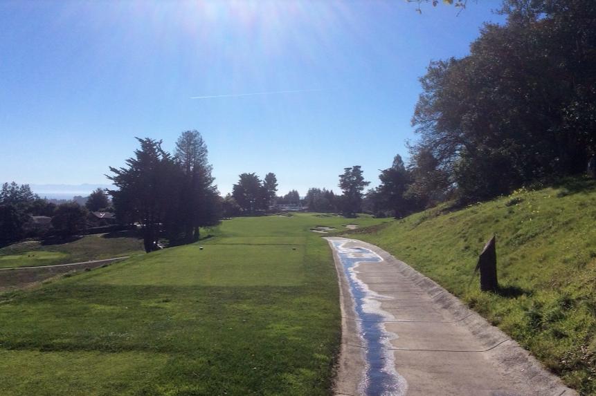 Pasatiempo golf club fourth hole
