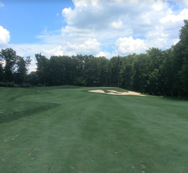 Spring Creek golf club seventh hole