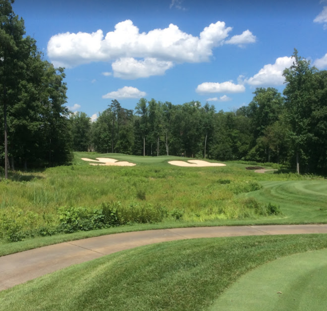 Spring Creek golf club  thirteenth hole