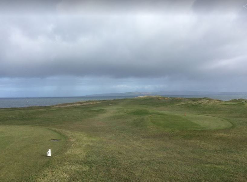 View from first tee