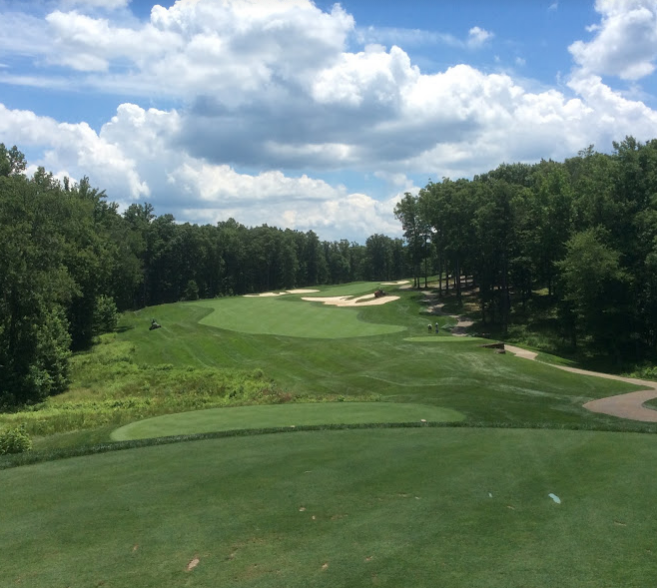 Spring Creek golf club sixth hole