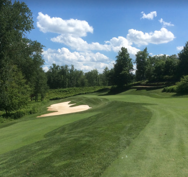 Spring Creek golf club sixteenth hole