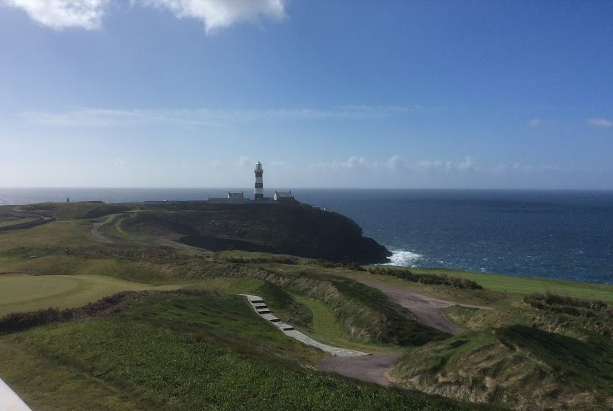 Lighthouse from clubhouse