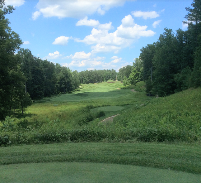 Spring Creek golf club  fourtenth hole