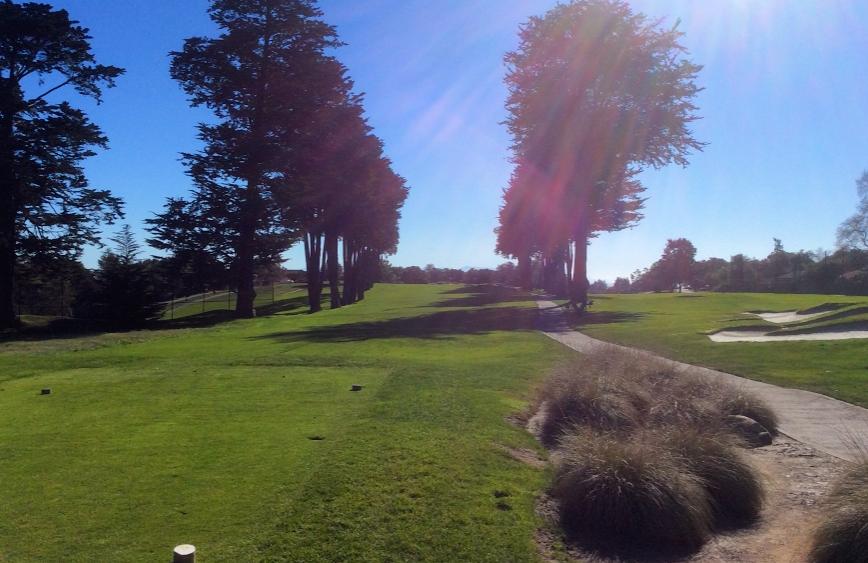 Pasatiempo golf club seventh hole