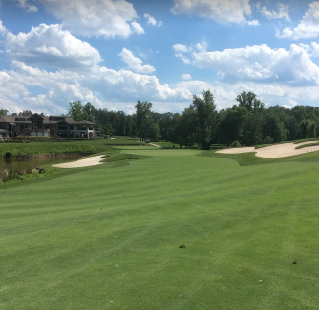 Spring Creek golf club eighteenth hole