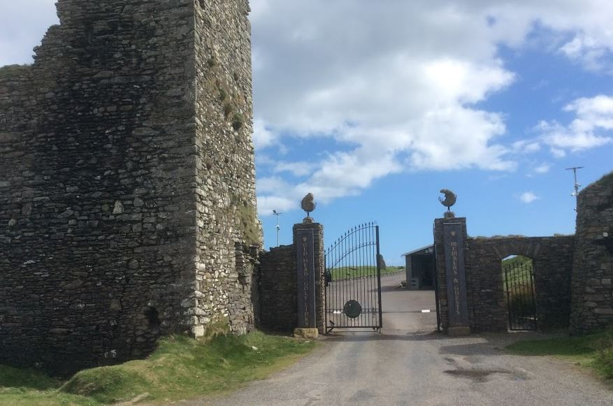 Gates to enter Old Head