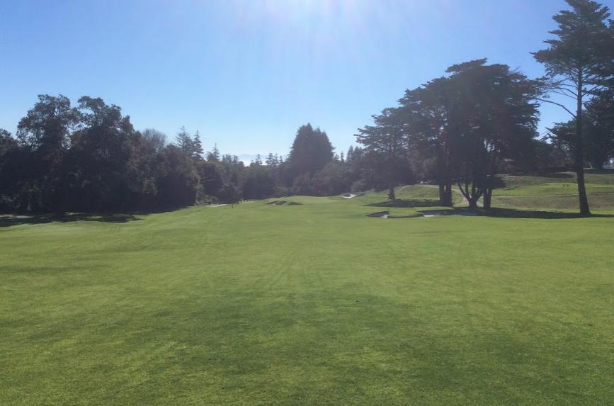 Pasatiempo golf club second hole