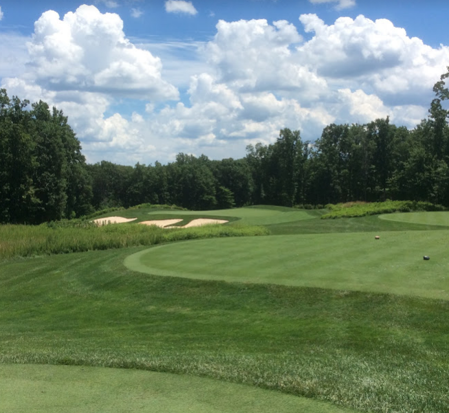 Spring Creek golf club  eighth hole