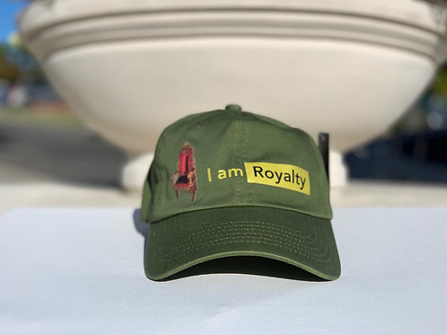 I am Royalty hat