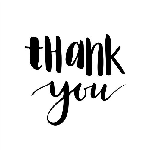 Gratuity- THANK YOU !
