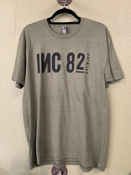 Men's Army Green shirt   Sizes M-XL  add comment for size