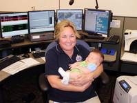 911 Dispatch Supervisor Tracy Ertl