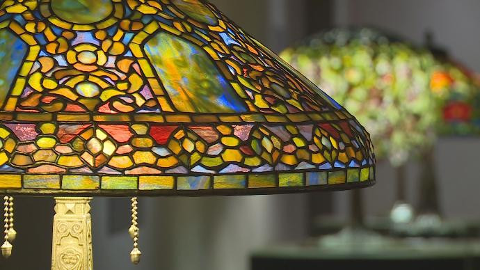 Tiffany Glass Opens at the Woodson Art Museum