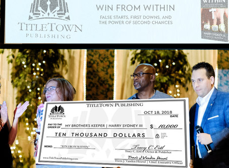 """TitleTown Announces New Release with a $10,000 Contribution to """"My Brother's Keeper"""""""