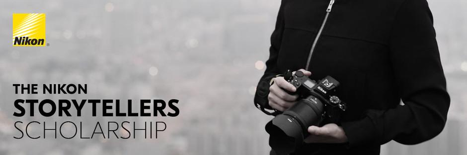 The Nikon Storytellers Scholarship Announced