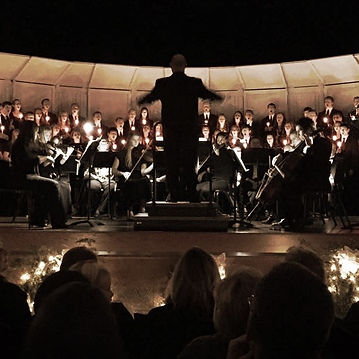 Mr. Miller conducts Concert Choir at Festival of Choirs