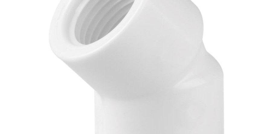 """JOELHO 45 PVC ROSCÁVEL 3/4"""""""