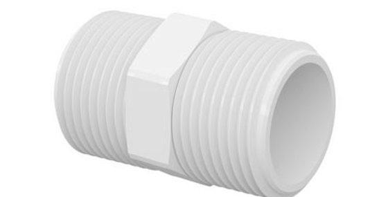 """NIPLE PVC ROSCÁVEL 1/2"""""""