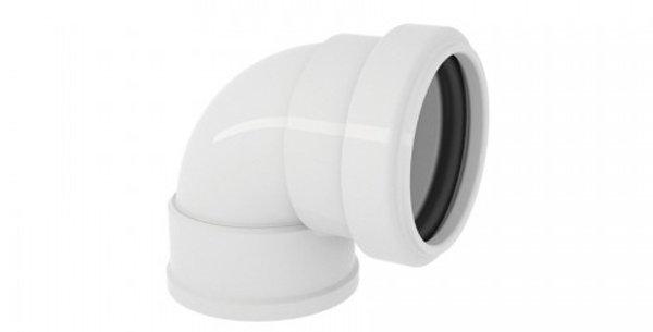 JOELHO 90º PVC ESGOTO COM ANEL DN38 X 38
