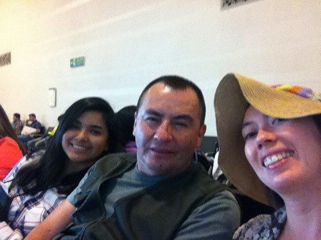 ¡Esperando en el aeropuerto!