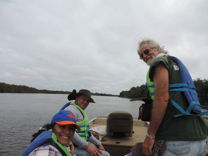 En el bote…
