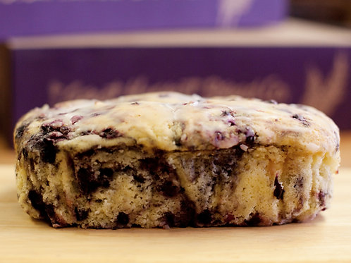 Raspberry Blueberry Teacake