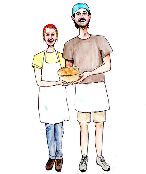 Gordo and Jess Wood, Owners of Great Harvest