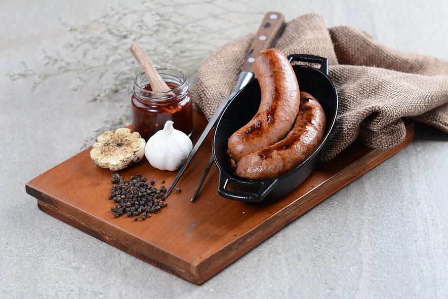 Smoked Beef Sausage - EVERYBODY'S FAVORITE