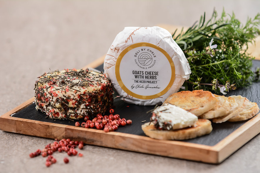 Goat Cheese with Herbs
