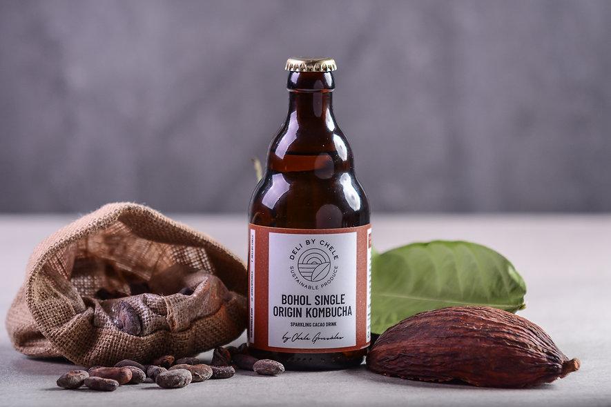 BOHOL SINGLE ORIGIN KOMBUCHA - Sparkling Cacao Drink