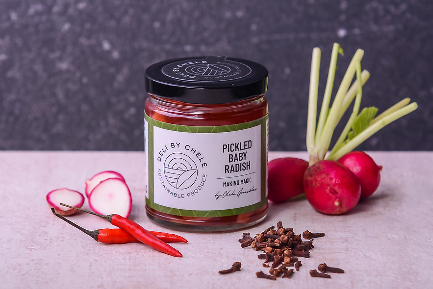 Pickled Baby Radish