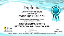 MENTAL COACH ROMANIA MARIA IRIS HOEPPE