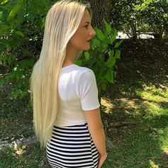 long blonde extensions  in altamonte springs orlando